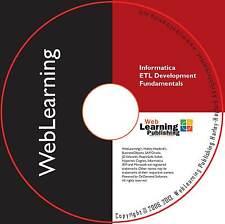 Informatica 9,6. x: integrazione dei dati e lo sviluppo ETL Essentials CBT