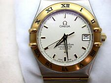 Beautiful Omega Constellation Chronometer Automatic 1120 Day Two Tone Mens Watch