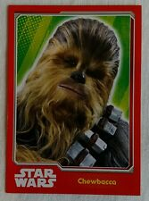 Topps Journey To Star Wars: The Force Awakens Card Chewbacca