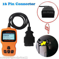 OM123 CAN OBD2 OBDII EOBD Engine Code Reader Auto Car Diagnostic Scan Tool New