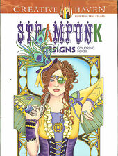 Steampunk Designs - A Creative Haven Adult Coloring Book from Dover Publications