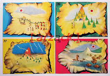 Album LONTANO WEST 2 DARDO 1963 - 4 figurine 75 76 77 78