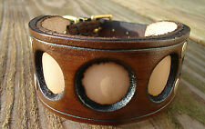 WC21 Leather Dog Collar Lurcher/Whippet/Bedlington Lamping/Coursing/Ferreting
