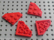 LEGO red plate ref 2450 / sets 8858 6339 8440 8857 8812 8429 5988 8232 8362 6862