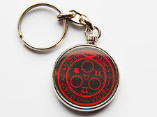 SILENT HILL HALO OF THE SUN Game Quality Chrome Keyring Picture Both Sides!