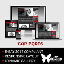 Plantilla de anuncio de subasta Ebay Profesional 2017 26 coches nuevo diseño con capacidad de respuesta