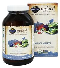 Garden Of Life MyKind Organics Men's Multi 120 VTabs - FREE FAST SHIPPING