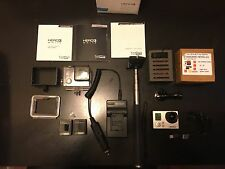 GoPro HERO3 White Edition Camcorder - White + Waterproof + Dive Lens +LOT Bundle