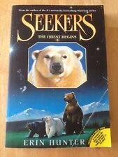 Seekers: The Quest Begins 1 by Erin Hunter (2009, Paperback) Good Book
