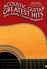Acoustic Guitar Greatest Hit Playalong Chord Songbook Book CD Sheet Music B22S89
