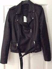 NWT Banana Republic Classic Leather Moto Jacket Sz Small