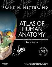 New- Netter Basic Science: Atlas of Human Anatomy - 6th Ed -** International ED.