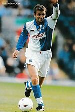 Football photo > tim sherwood blackburn rovers 1995-96