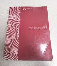 1991 Infiniti Technical Service Bulletins Repair Manual