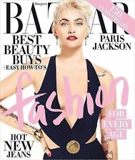 PARIS JACKSON HARPERS BAZAAR MAGAZINE APRIL 2017 NEW NO LABEL