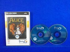 *PC AMERICAN McGEE'S ALICE (No Manual) CD ROM McGees W/ Key