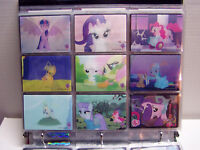 My Little Pony Series 3 Trading Cards Binder w/ Card Set, Lenticular Set, + more
