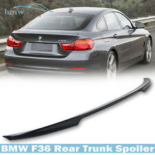 BMW 4-Series F36 Gran Coupe P-Look Painted #B39 Rear Trunk Boot Spoiler Wing