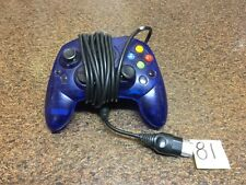Microsoft Xbox S-Type Clear Blue Controller Original Official Genuine OEM