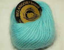 BISCAYNE 10gr 33yd Galler BELANGOR 100% ANGORA Rabbit Fur X-SOFT Luxurious Yarn