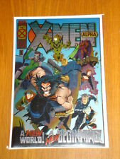 X-MEN ALPHA #1 MARVEL COMICS FEBRUARY 1995