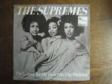 THE SUPREMES 45 TOURS HOLLANDE COLOR MY WORLD BLUE