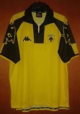 Aek Athens Rare Vintage Kappa 1999 Jersey Shirt Superleague Greece