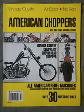 2005 JULY AMERICAN CHOPPERS PHOTO BOOK  vol.1 #4 COLOR PICS HARLEY SHOVEL + MORE