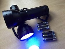 Golf Balls  - Find Your Own With 2 SUPER  50 Led  Deluxe Torches -FREE BATTERIES