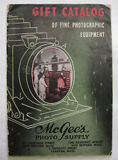 Cameras Photography Gift Trade Catalogue Photographic Equipment Illus. 1947