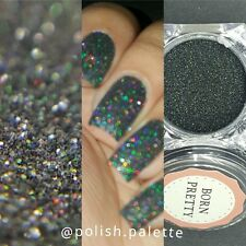 1Box Holographic Holo Laser Effect Powder Glitter Dust Manicure Nail Art DIY #8