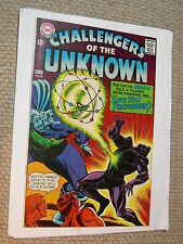 Challengers of the Unknown #62 8.5 VF+ Legion of the Weird White Pages