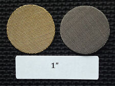 1 inch stainless steel tobacco pipe screen filters - 50 count - high quality!