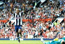 Signed Saido Berahino West Bromwich Albion Autographed Photo
