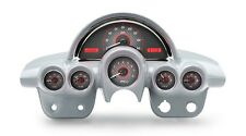 1958-62 Chevy Corvette Carbon Fiber & Red Dakota Digital VHX Analog Gauge Kit