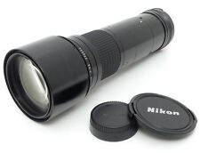 Nikon Nikkor Ai-s 400mm F5.6 MF ED Lens. Filter