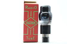 6Y6G TUBE. HALTRON BRAND TUBE. NOS/NIB. CRYOTREATED. CH13V12F010615.