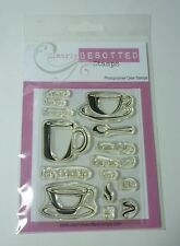 CLEARLY BESOTTED WARM WISHES SMALL CLEAR STAMP SET