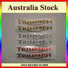Triumph 3D Sticker Decal Badge Emblem Logo Bike ATV Quad Motorcycle Fuel Tank