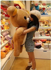 Bear 80cm Cute San-x Rilakkuma Relax Soft Giant Stuffed Pillow Plush Doll Toy
