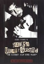 AUGUST UNDERGROUND DVD RARE Toetag Gore Fred Vogel NEW Extreme Horror