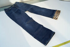 sommerliche CAMBIO 7/8 Jeans Damen Sommer Hose stretch stone wash Gr.36 darkblue