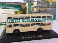 Bussing D2U 1951 Germania Bus Collection Atlas De Agostini 1:72 BUSCOL47