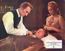 PETER CUSHING FRANKENSTEIN MUST BE DESTROYED HAMMER 1969 VINTAGE LOBBY CARD #10