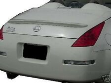 PRIMER UNPAINTED fits NISSAN 350Z CONVERTIBLE 2003-2009 NO DRILL 3M LIP SPOILER