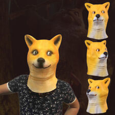 Wow Doge Meme mask KABOSU face latex headgear Halloween Cosplay