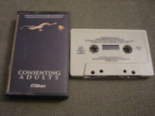 RARE OOP PROMO Consenting Adults CASSETTE TAPE soundtrack Michael Small KLUTE 92