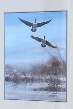 JOE GARCIA (BORN 1945) ORIGINAL WATERCOLOR WILDLIFE ARTIST CALIFORNIA WELL LISTE