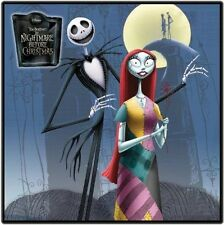 "Nightmare Before Christmas 8""x10"" Fabric Quilt Block Quilting Sewing Square #5"