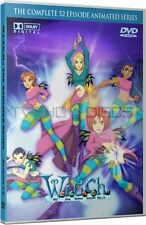 W.I.T.C.H. Animated Cartoon TV Series Complete DVD Set (Witch)